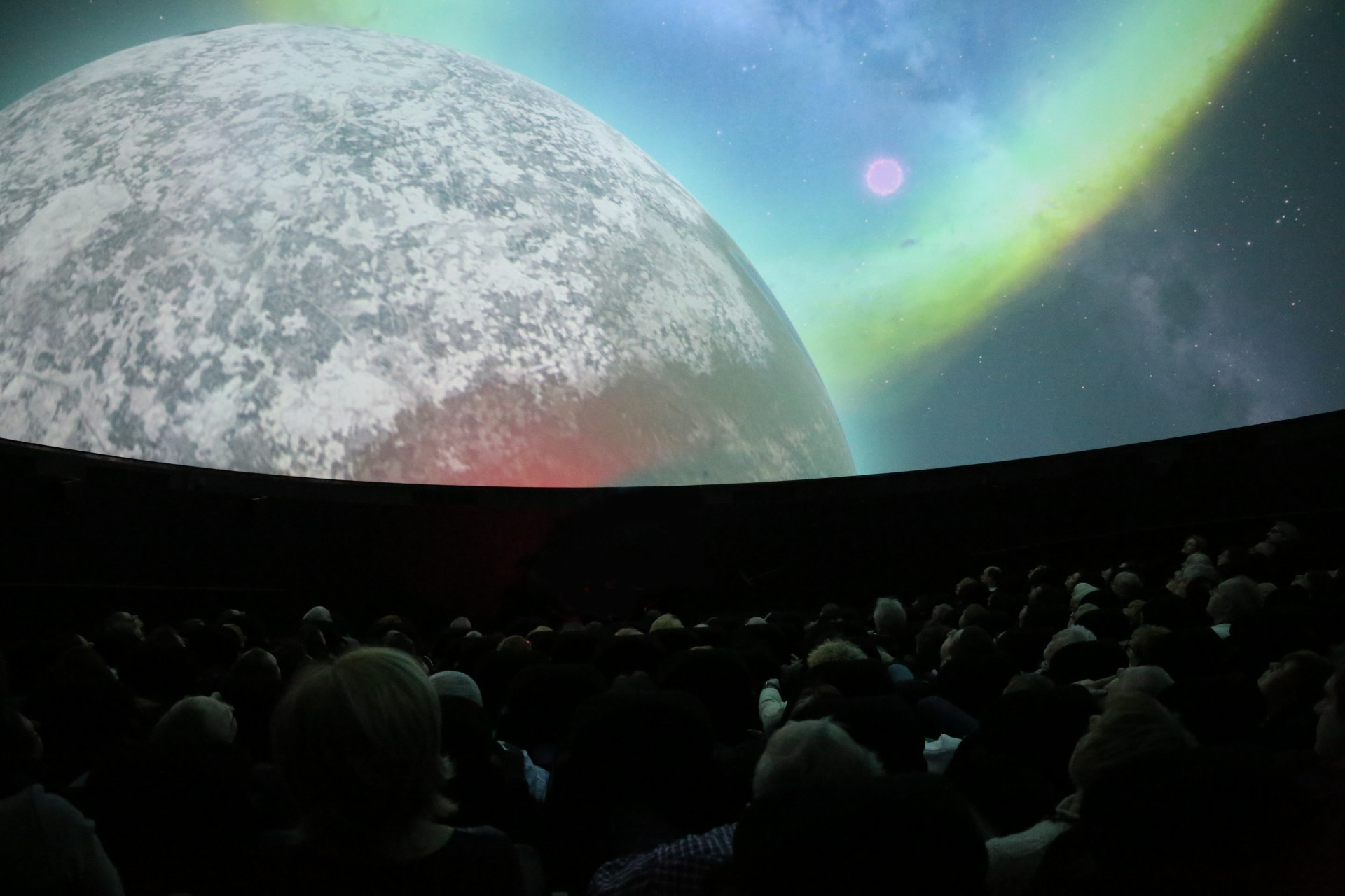 Autumn Sky Constellations in EC1 Planetarium