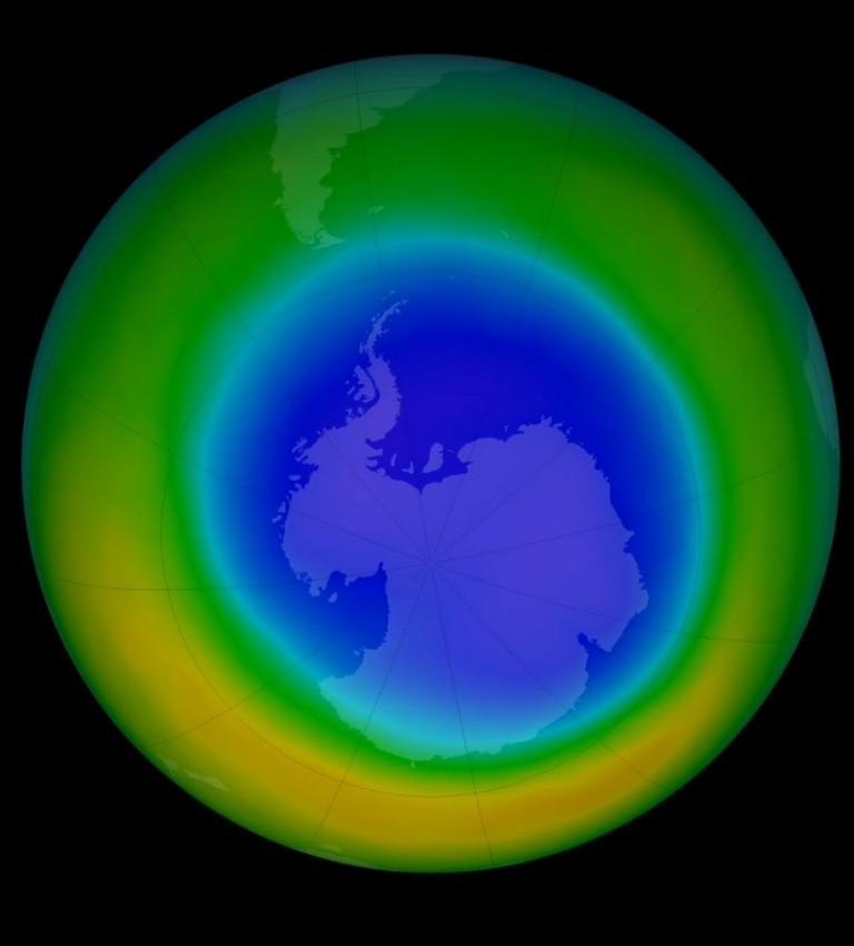 Dziura ozonowa znika