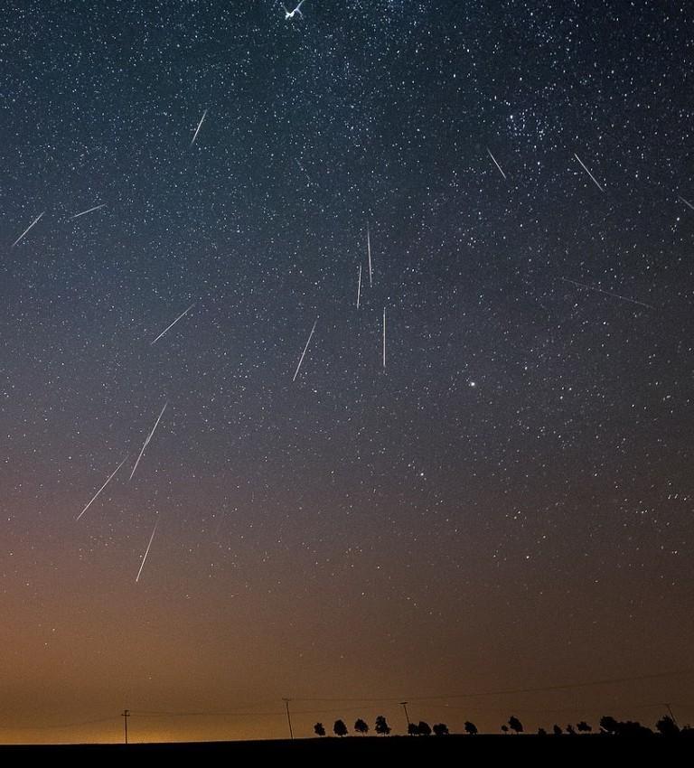 Nocne niebo nad Łodzią: sierpień 2018