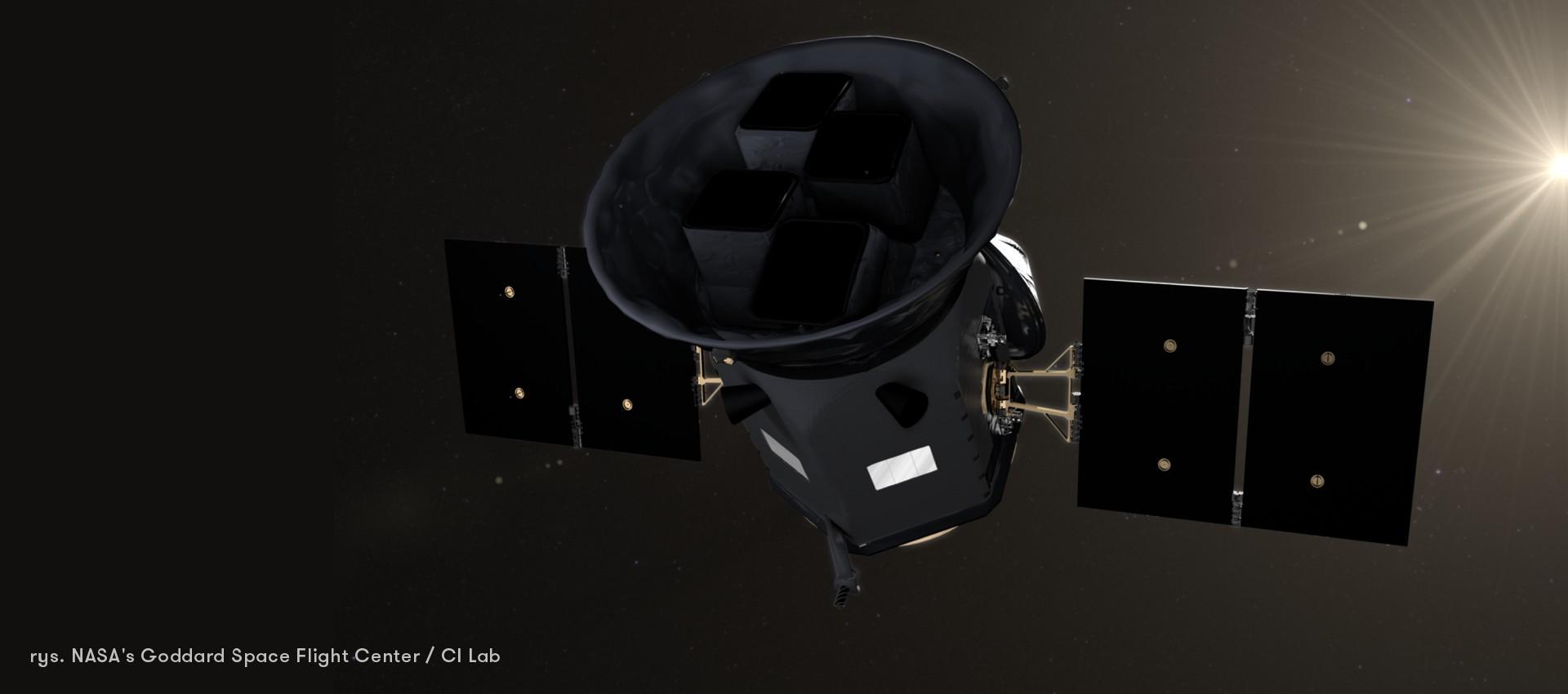 TESS zaczyna poszukiwanie egzoplanet